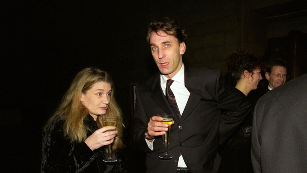 Author Deborah Orr with her then  husband Will Self at an exhibition at the Tate Gallery in London in 1998