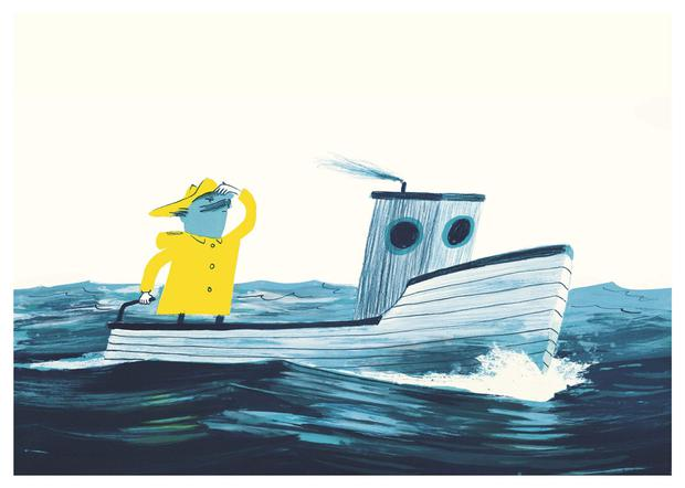 The Fate of Fausto: A Painted Fable by Oliver Jeffers