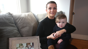 Lisa Lawlor with her son Lennon in 2018. Photo by: Damien Eagers