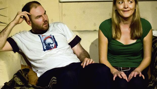 HIGH POINT: Paul Marron and Margarita Grillis in 'The Great Couch Rebellion'