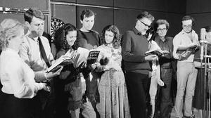 Singing off the same hymn sheet: The Radio Éireann Players had to read their parts directly from the book while recording Ulysses in 1982