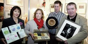 CRAFTS: Paula Fitzpatrick, Majella McAuley, Roy Humphreys and Jo Gray from the Leitrim Design House. Photo: David Conachy