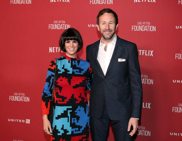 Family life: Dawn and Roscommon actor Chris O'Dowd have two sons together