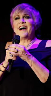 Lorna Luft performing in New York last year