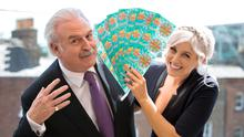 Winning Streak presenters Marty Whelan and Sinead Kennedy