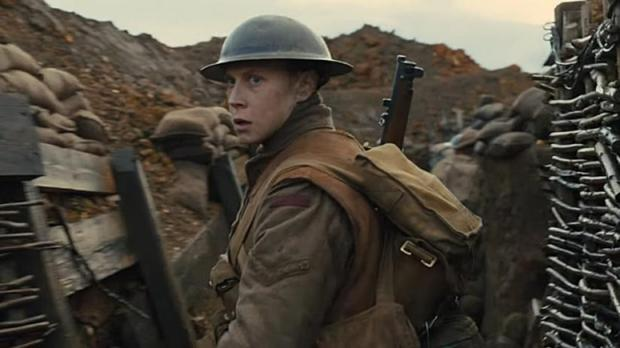 On the front line: George MacKay leads the audience through a terrifying incarnation of the trenches in 1917