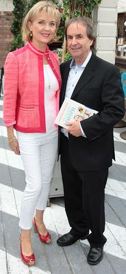 Chris De Burgh and wife Diane pictured at the launch of daughter Rosanna's book.