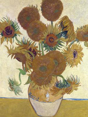 Undated handout photo issued by Tate Britain of Sunflowers by Vincent van Gogh (The National Gallery/Tate/PA)