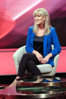The Tonight Show presenter Ciara Doherty Pic: Brian McEvoy