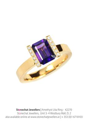 Ring from Stonechat Jewellers