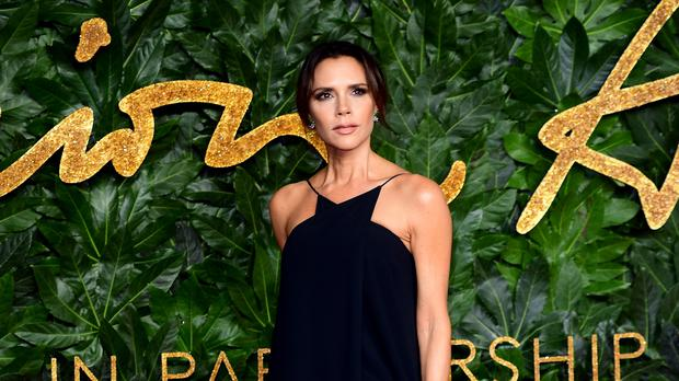 Victoria Beckham says she is comfortable in her skin (Ian West/PA)
