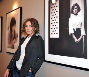 """""""The Price of Desire"""" actress Orla Brady at the exhibition of The Eileen Gray Project Portraits by Julian Lennon"""