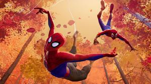 Spider-Men from multiple universes team up