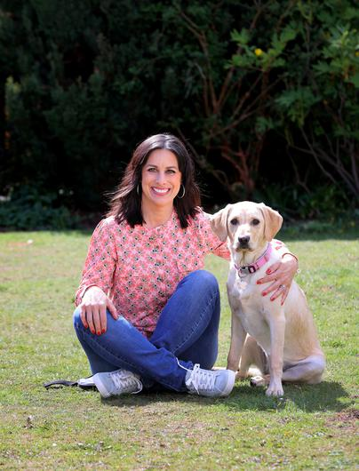 Lucy Kennedy and Riley