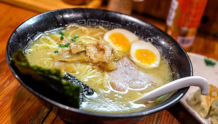 I like most of the parts of ramen. But somehow, for me, ramen is less than the sum of its parts