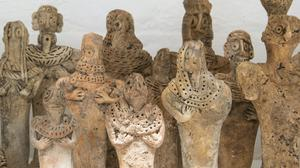A selection of the fake statues (British Museum/PA)