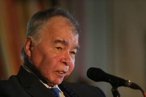 Influential folk singer John Prine is among the celebrities to have died after being diagnosed with coronavirus (Niall Carson/PA)
