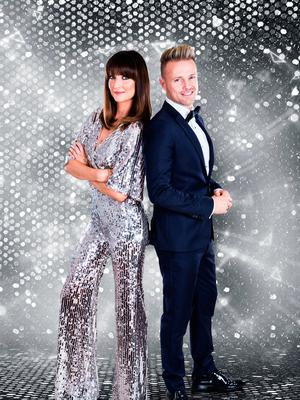 Jennifer Zamparelli and Nicky Byrne