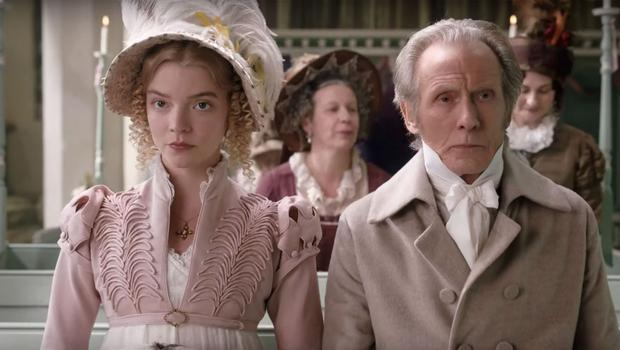 Austen power: Taylor-Joy and Nighy in Emma