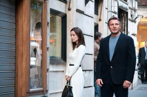 Oliva Wilde and Liam Neeson play lovers in 'Third Person'.