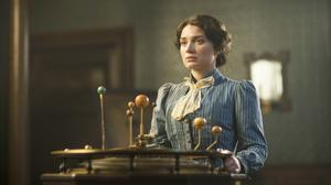Sweetest thing: Eve as Anna Wetherell in BBC's adaptation of The Luminaries
