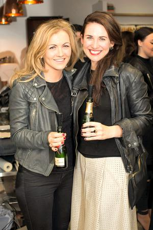 Ciara McKenna & Kim Knowles pictured at Dublin's first #FashMash event in association with Moët & Chandon. Photo: Anthony Woods