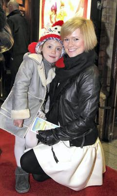 Cecelia Ahern with daughter Robin