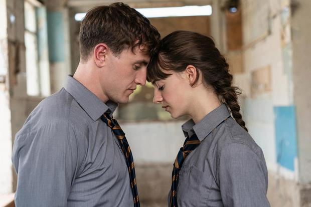 Paul Mescal and co-star Daisy Edgar-Jones in the hit TV series Normal People