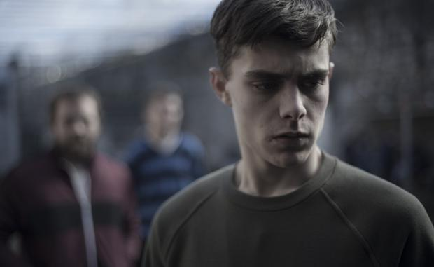 Reluctant offender: Dafhyd Flynn in the title role as the young prisoner in Michael Inside, directed by Frank Berry