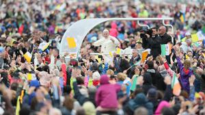 Pope Francis (Brian Lawless/PA)