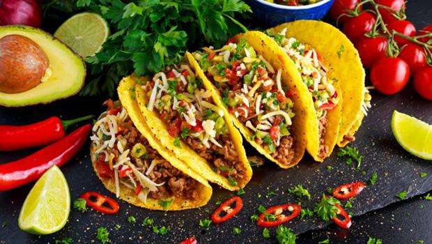 Try tacos with every conceivable filling