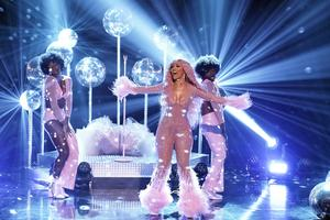 Doja Cat performs her uplifting track 'Say So' on The Tonight Show Starring Jimmy Fallon
