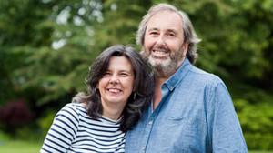 Murdered: Helen Bailey and her partner Ian Stewart