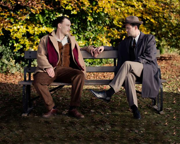 Let love rule: Against The Law portrays the romance between Lord Montagu and Peter Wildeblood