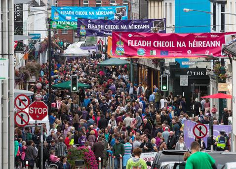 Sligo's unique hospitality and accessibility combine to make it the perfect venue for the Fleadh Cheoil