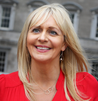 Miriam O'Callaghan: RTE star in the Christmas mood Photo: Tom Burke