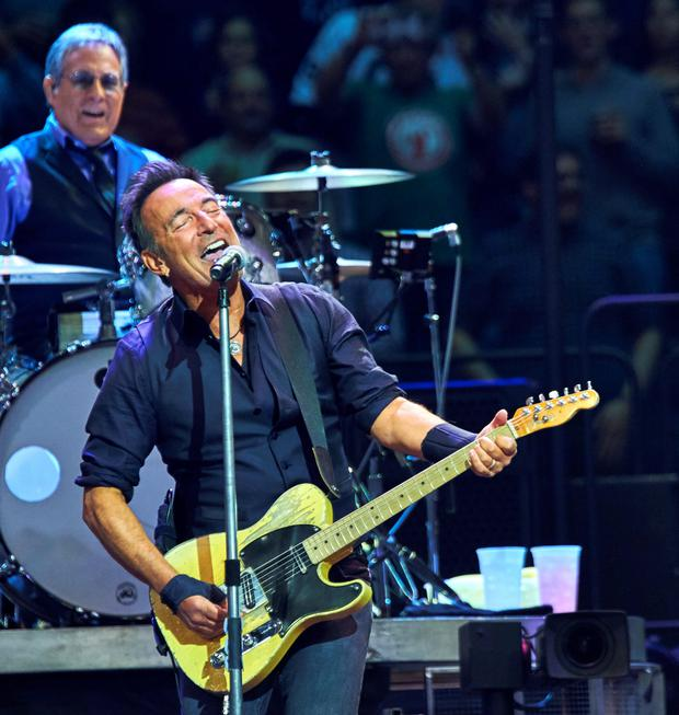 BORN TO RETURN: The people of Rathangan in Co Kildare are hoping that Bruce Springsteen will visit his ancestral homeland when he heads to Dublin for The River Tour this summer