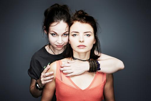 Free birds: Jane McGrath and Genevieve Hulme-Beaman in The Seagull at Dublin Theatre Festival