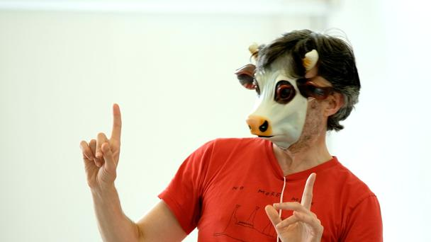 Wilde stuff: Pan Pan rehearsing 'The Importance of Nothing' which runs as part of Project 50