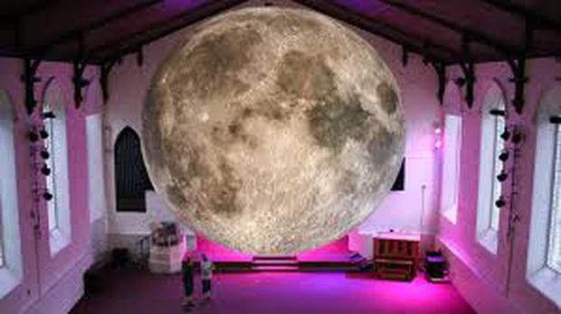 Museum of the Moon at the Nexus Hall, Cork Institute of Technology