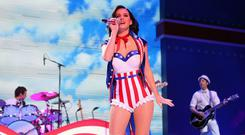 Firework: Whether you don an eye-catching patriotic outfit like Katy Perry or gorge on doughnuts, embrace Americana this 4th of July