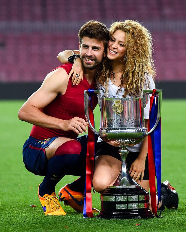 Husband's gig: Gerard Pique and Shakira. Photo: Getty Images