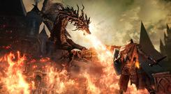 Dark Souls 3 has plenty of dragons