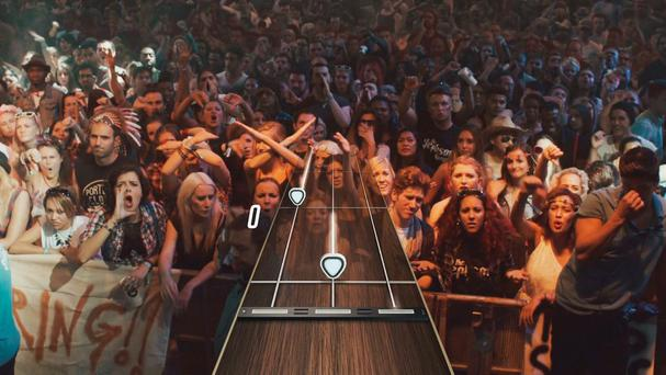 Guitar Hero Live - This is what happens when you suck. Negative Crowd Feedback.