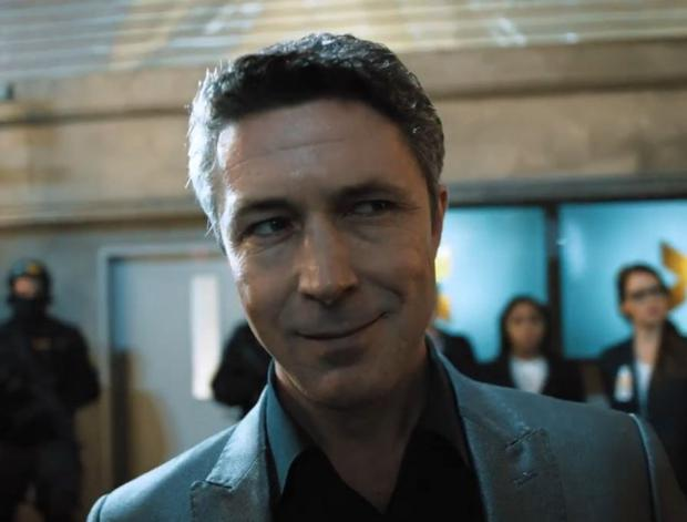Innovation: Aidan Gillen in a live-action scene from Quantum Break.
