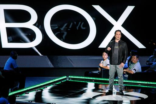 Project Scorpio: Xbox boss Phil Spencer at the Microsoft Xbox event ahead of the E3 expo in Los Angeles this week.