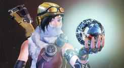 Joule is the lead character in ReCore