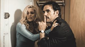 Riley Keough and Matt Dillon in The House That Jack Built