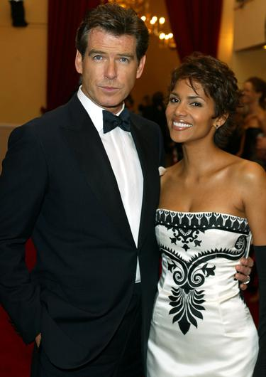 Pierce Brosnan and Halle Berry (PA)