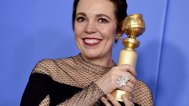 "Olivia Colman said she was ""too excited"" (Jordan Strauss/Invision/AP)"